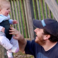 Swinging With Daddy!