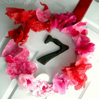 Valentine's Day Wreath Toddler Style