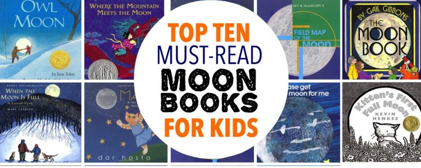 Best Moon Books for Kids Cover