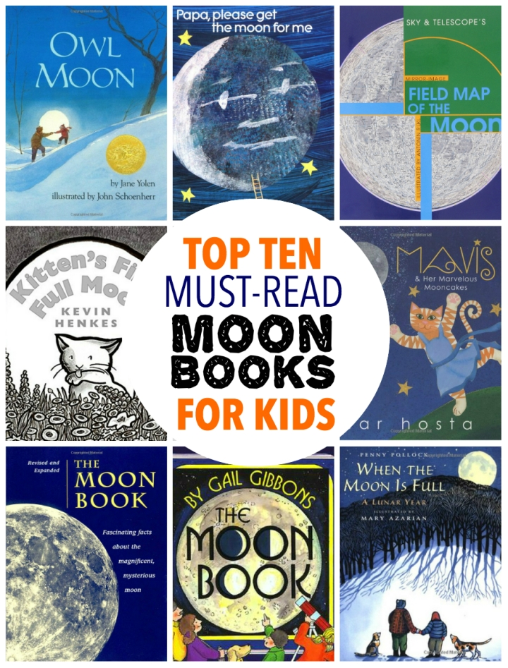 Best Moon Books For Kids